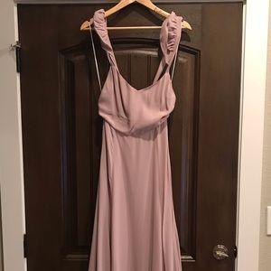 Reformation Long Lavender Dress
